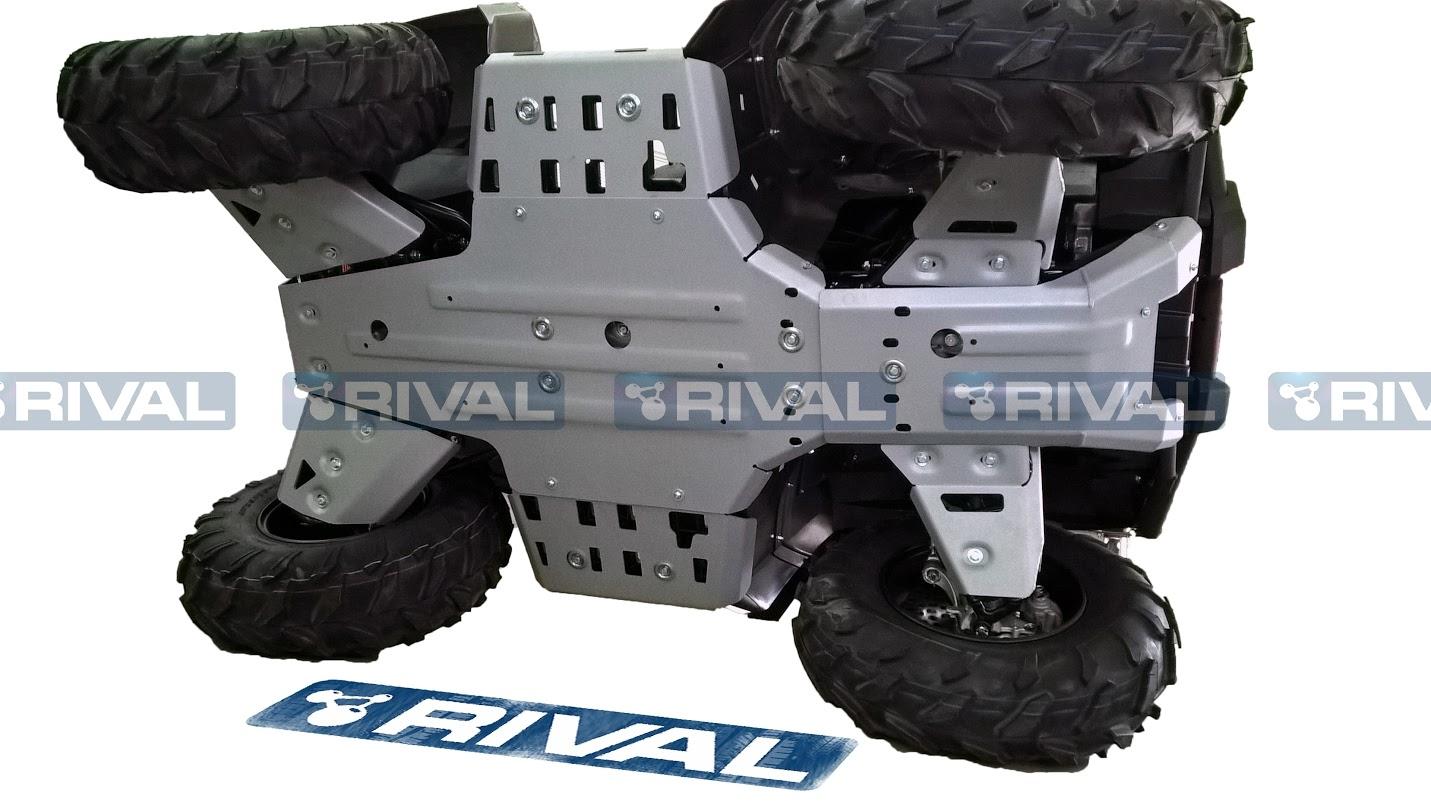 RIVAL - skid plate kit - Yamaha Kodiak 700 16-