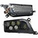 Brite-Lites - LED koplampset Polaris RZR 1000/Turbo 16-19