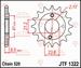 JT Tandwiel voor - Honda TRX400 Fourtrax 00-04 - 15T
