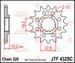 JT Tandwiel voor - Suzuki LT250R Quadracer - 12T