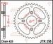 JT Tandwiel achter - Honda TRX70 - 37T