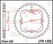 JT Tandwiel achter - Honda TRX125 - 50T