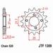 JT Tandwiel voor - Honda TRX400 05-14 - 15T