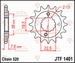 JT Tandwiel voor - Kawasaki KSF/KFX400 - 16T