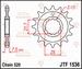 JT Tandwiel voor - Kawasaki KSF/KFX450R - 16T