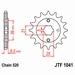 JT Tandwiel voor - Kymco 150 MXer/MXU - 14T