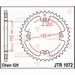 JT Tandwiel achter - Kymco 250/300 KXR/KXU/Maxxer - 38T