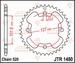 JT Tandwiel achter - Polaris Outlaw 450S/MXR - 38T