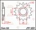 JT Tandwiel voor - Polaris Scrambler 500 4x4 - 12T