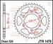 JT Tandwiel achter - Polaris Scrambler 500 4x4 - 40T