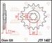 JT Tandwiel voor - Suzuki LT80 - 10T