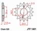 JT Tandwiel voor - Suzuki LTR450 - 15T