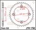 JT Tandwiel achter- Suzuki LTR450 - 38T
