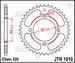 JT Tandwiel achter-Yamaha YFA125 Breeze/YFM125 Grizzly - 32T