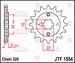 JT Tandwiel voor - Yamaha YFS200 Blaster - 12T