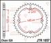 JT Tandwiel achter - Yamaha YFZ450 04-13 - 36T