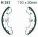 EBC organisch - Honda TRX400 Fourtrax 04-07 voor