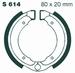 EBC gesinterd - Kawasaki KFX50/80 03-06 voor