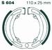 EBC organisch - Kawasaki KFX50 03-06 achter
