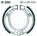 EBC organisch - Kawasaki KFX50/90 07-14 voor