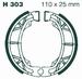 EBC gesinterd - Kymco MXer125/150+MXU150 voor