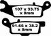 EBC gesinterd - Yamaha YFM250 Raptor - rechtsvoor