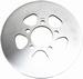 EBC remschijf - Yamaha YFM250 R 09-13 - achter