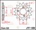 JT Tandwiel voor - Adly 500S - 15T