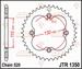 JT Tandwiel achter - Adly 500S 39T