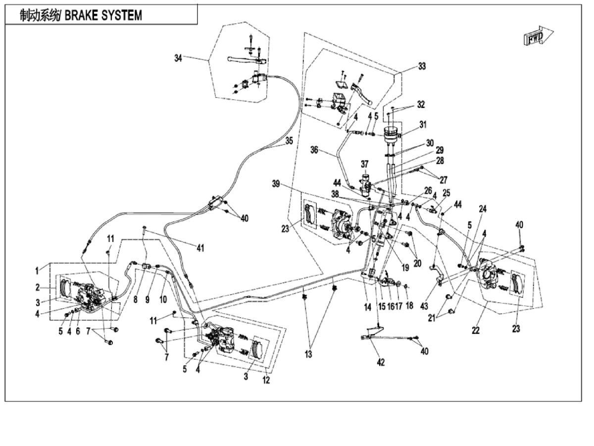 Brake system I