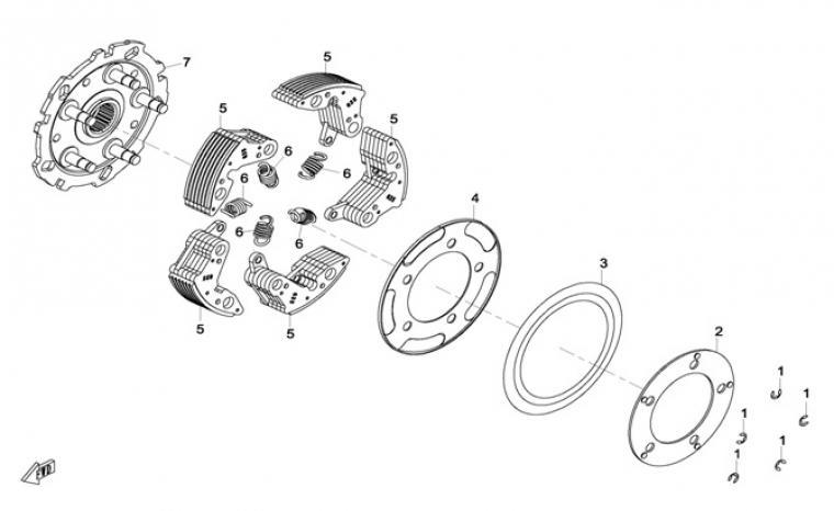 Clutch (parts)