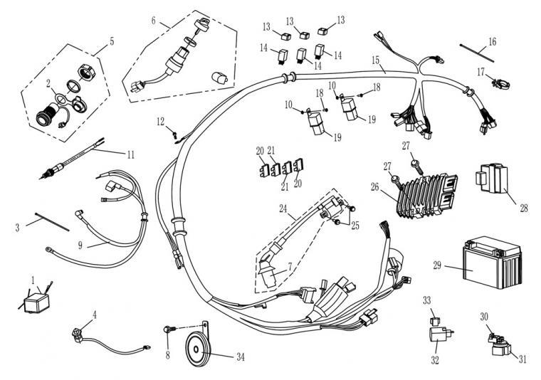 Electrics (carburator)
