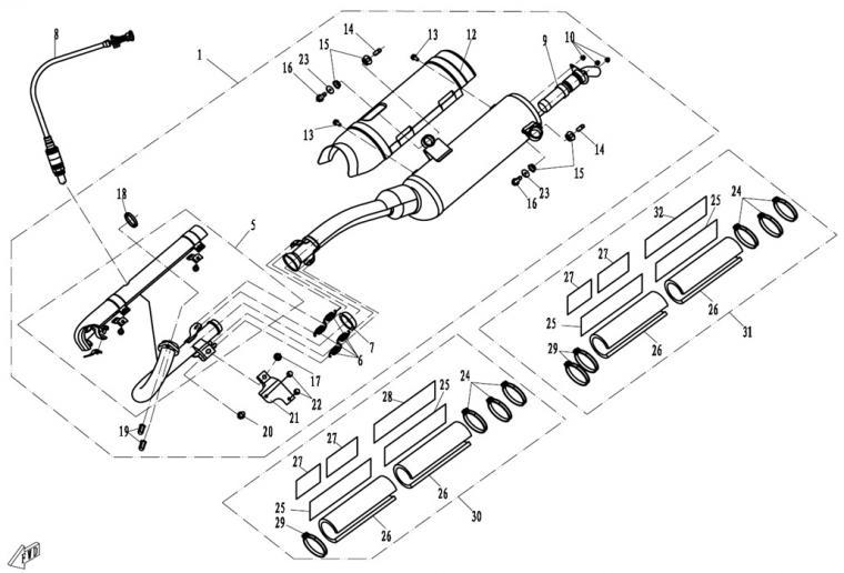 Exhaust (EFI)