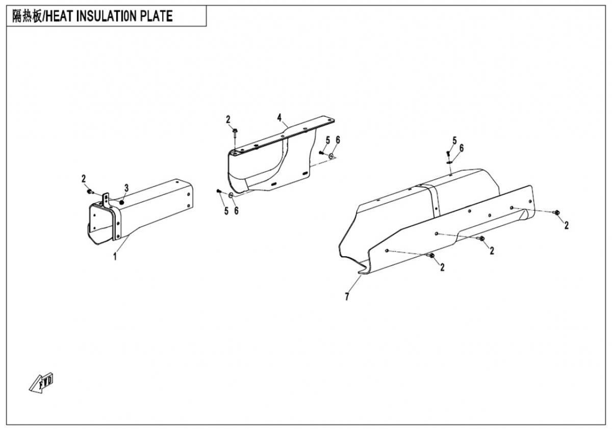 Heat insulation plate