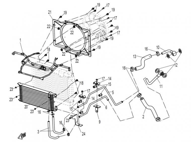 Oil cooler (2)