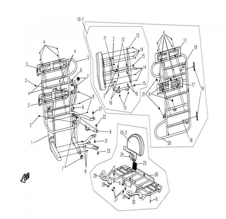 Racks / backrest (1)
