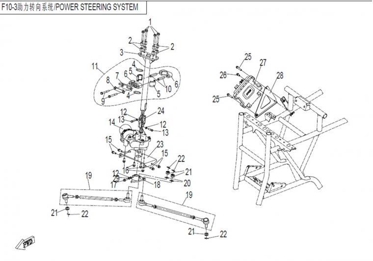 Steering system, EPS