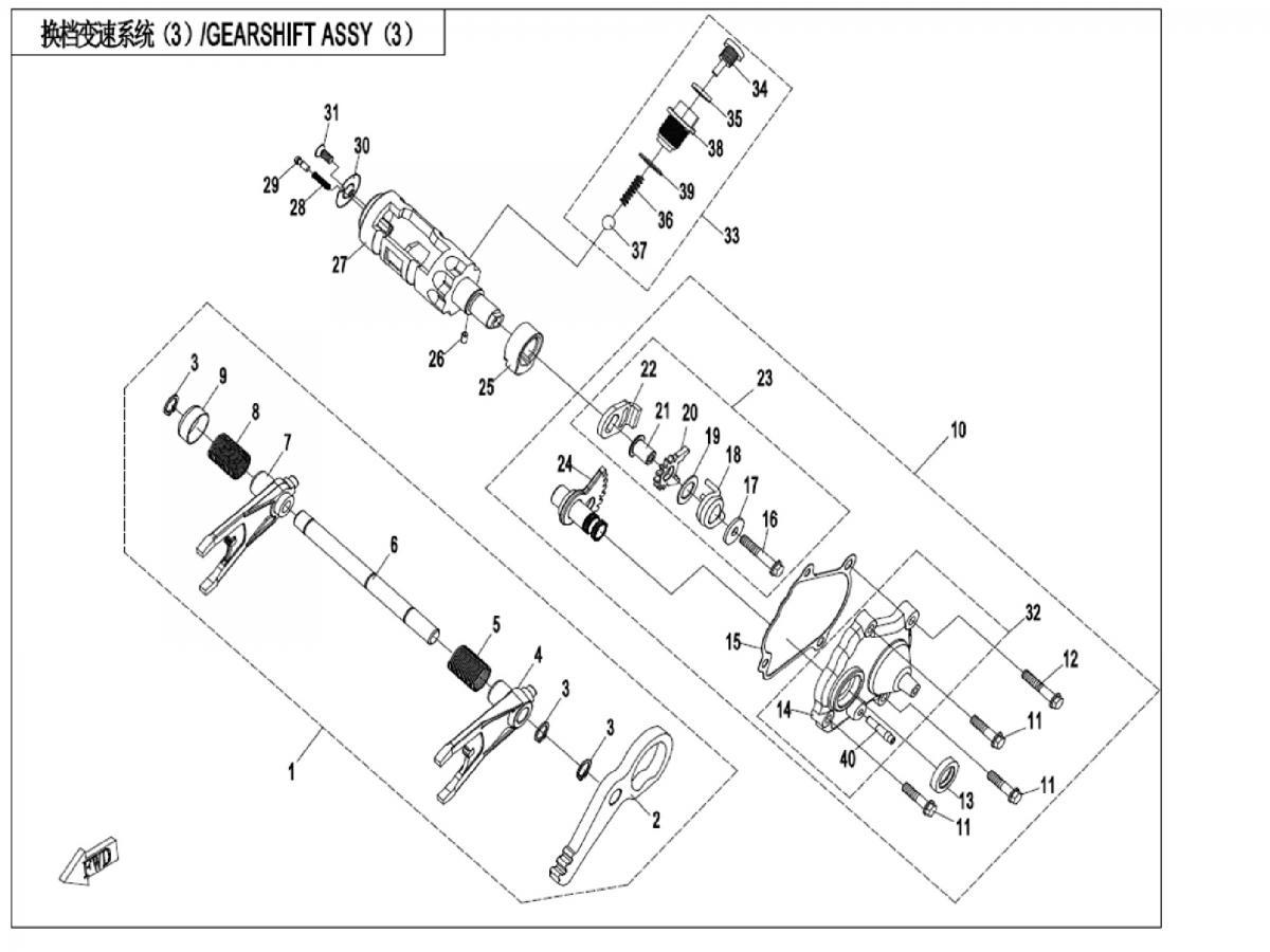 Transmission system III